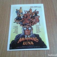 Cine: MICHELLE PFEIFFER -- AMAZONAS LUNA -- JOHN LANDIS -- POSTAL CARTEL PELÍCULA - CINE. Lote 171497935