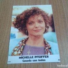 Cine: MICHELLE PFEIFFER -- CASADA CON TODOS -- PELÍCULA - CINE. Lote 171498147