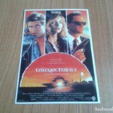 Cine: MICHELLE PFEIFFER -- CONEXION TEQUILA -- MEL GIBSON, KURT RUSSELL -- POSTAL CARTEL PELÍCULA -- CINE. Lote 171498703