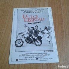 Cine: MICHELLE PFEIFFER -- DULCE LIBERTAD -- MICHAEL CAINE -- POSTAL CARTEL PELÍCULA -- CINE. Lote 171499505