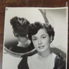 Cine: RUTH ROMAN - FOTO ORIGINAL B/N TROQUELADA - HOLLYWOOD STAR. Lote 172084642