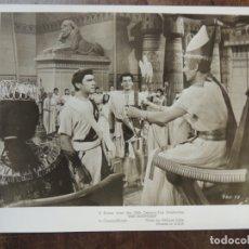 Cinéma: THE EGYPTIAN - FOTO ORIGINAL B/N - SINUHE EL EGIPCIO VICTOR MATURE EDMUND PURDOM MICHAEL WILDING. Lote 172160873