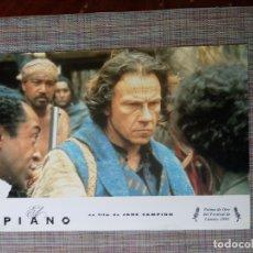 Cine: FOTOCROMOS DE PELÍCULA. EL PIANO, HARVEY KEYTEL. COMPLETO 12 UNIDADES.. Lote 172256274