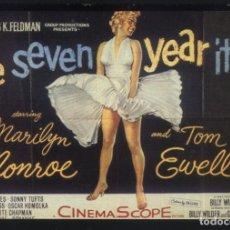 Cine: P-8158- THE SEVEN YEAR ITCH (LA TENTACION VIVE ARRIBA) MARILYN MONROE - TOM EWELL. Lote 199385035