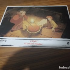 Cine: TARÓN Y EL CALDERO MÁGICO. FOTOGRAMA O FOTOCROMO. PEQUEÑA ROTURA EN LA PARTE DE ABAJO. Lote 172429445