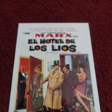 Cine: POSTAL HERMANOS MARX. Lote 172823943