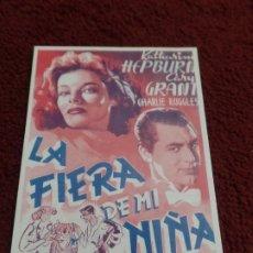 Cine: POSTAL PELÍCULA LA FIERA DE MI NIÑA. Lote 172823974