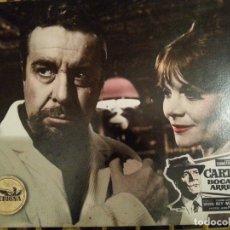 Cinéma: FOTOCROMO ORIGINAL: CARTAS BOCA ARRIBA. Lote 172945308
