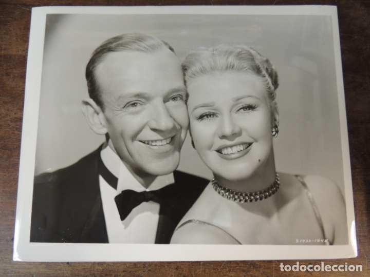 Ginger Rogers Fred Astaire Foto Original B N Sold Through Direct Sale 173413595
