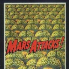 Cine: P-8237- MARS ATTACKS (FICHA CON FORMATO DE FOLLETO DE MANO) JACK NICHOLSON - GLENN CLOSE. Lote 173487648
