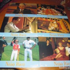 Cine: NIÑO RICO - MACAULAY CULKIN - JUEGO COMPLETO 12 FOTOCROMOS . Lote 173525372