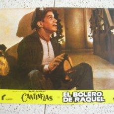 Cine: FOTOCROM DE LA PELICULA EL BOLERO DE RAQUEL DE CANTINFLAS. Lote 173559559