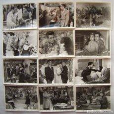 Cine: LA DANZA DE LOS DESEOS, CON LOLA FLORES. 12 FOTOS FOTOCROMOS ORIGINALES, 18 X 24,5 CMS... Lote 173866643