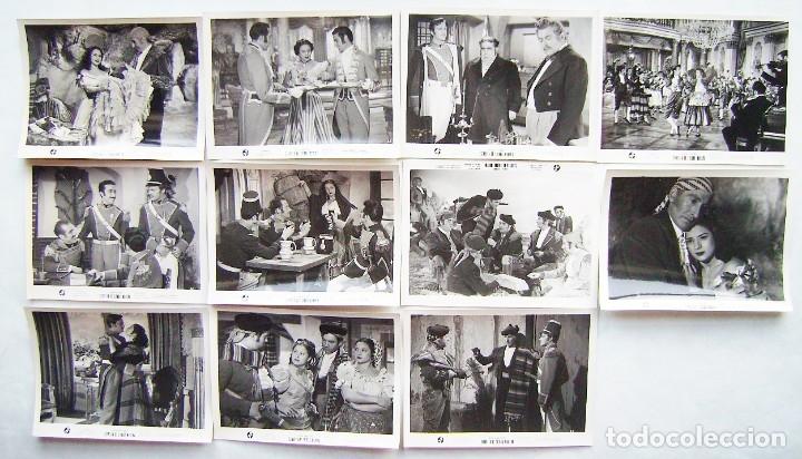 ESTRELLA DE SIERRA MORENA, CON LOLA FLORES. 11 FOTOS FOTOCROMOS ORIGINALES, 18 X 24 CMS.. (Cine - Fotos, Fotocromos y Postales de Películas)