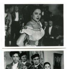 Cine: LOLA FLORES. LA ESTRELLA DE SIERRA MORENA. 2 REPRODUCCIONES EN FOTO 12,5 X 17,5 CMS... Lote 173931463