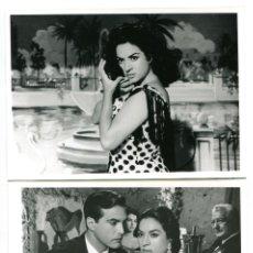 Cine: LOLA FLORES.MARÍA DE LA O. 2 REPRODUCCIONES EN FOTO 12,5 X 17,5 CMS... Lote 173935884