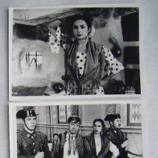 Cine: LOLA FLORES. MORENA CLARA. 3 REPRODUCCIONES EN FOTO 12,5 X 17,5 CMS... Lote 173937524