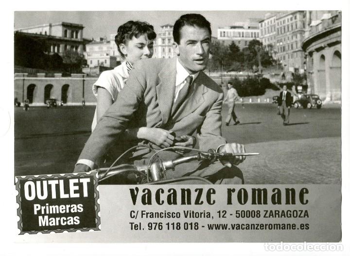 VACACIONES EN ROMA. IMPRESIÓN 15 X 21 CMS.. (Cine - Fotos, Fotocromos y Postales de Películas)