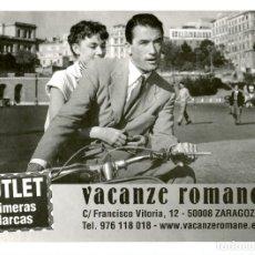 Cine: VACACIONES EN ROMA. IMPRESIÓN 15 X 21 CMS... Lote 173940487