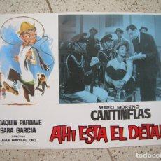 Cine: FOTOCROM DE LA PELICULA AHI ESTA EL DETALLE. Lote 174977900