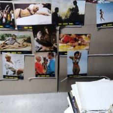 Cine: SOLO CUANDO DESEO ANNIE BELLE 10 FOTOCROMOS ORIGINALES B2 (1096). Lote 175041530