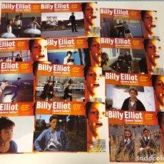 Cine: BILLY ELLIOT (QUIERO BAILAR). (2000). LOTE DE 12 FOTOCROMOS (SET COMPLETO). PERFECTO ESTADO.. Lote 175335224
