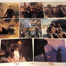 Cine: EMPIRE OF SUN (1987). LOTE DE 8 FOTOCROMOS (SET COMPLETO). EL IMPERIO DEL SOL. PERFECTO ESTADO. Lote 175335600