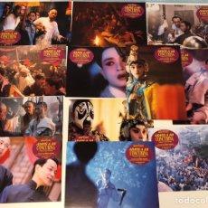 Cine: ADIÓS A MI CONCUBINA (1993). LOTE 12 FOTOCROMOS (SET COMPLETO). EN PERFECTO ESTADO. Lote 247369925