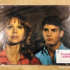 Cine: IR A PERDERLO... Y PERDERSE (1983). LOTE 12 FOTOCROMOS (SET COMPLETO). TOM CRUISE. PERFECTO ESTADO.. Lote 175340179