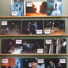 Cine: ZS87 FURIA SILENCIOSA CHUCK NORRIS SET COMPLETO 12 FOTOCROMOS ORIGINAL ESTRENO. Lote 13612465