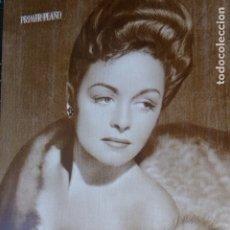 Cine: NONNA REED ACTRIZ CINE FOTO LAMINA HUECOGRABADO REVISTA PRIMER PLANO AÑOS 40. Lote 175858420