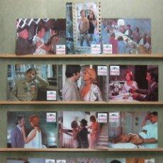 Cine: ZT14 LA SIESTA OVIDI MONTLLOR VICENTE PARRA SET COMPLETO 12 FOTOCROMOS ORIGINAL ESTRENO. Lote 176006275
