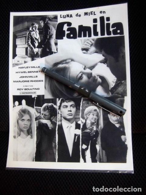 BEATLES PAUL MCCARTNEY LUNA DE MIEL EN FAMILIA FOTOGRAFIA ORIGINAL EPOCA ESPAÑA PRODUCTORA (Cine - Fotos, Fotocromos y Postales de Películas)