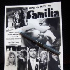 Cine: BEATLES PAUL MCCARTNEY LUNA DE MIEL EN FAMILIA FOTOGRAFIA ORIGINAL EPOCA ESPAÑA PRODUCTORA. Lote 176056960