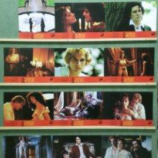 Cine: ZT56 GOTHIC KEN RUSSELL GABRIEL BYRNE SET COMPLETO 12 FOTOCROMOS ORIGINAL ESTRENO. Lote 176101522