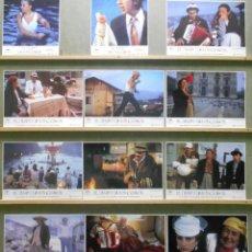 Cine: ZT71 EL TIEMPO DE LOS GITANOS EMIR KUSTURICA SET COMPLETO DE 12 FOTOCROMOS ORIGINAL ESTRENO. Lote 176104207