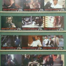 Cine: ZT75 ATRACCION DIABOLICA GEORGE A. ROMERO SET COMPLETO 12 FOTOCROMOS ORIGINAL ESTRENO. Lote 176104784