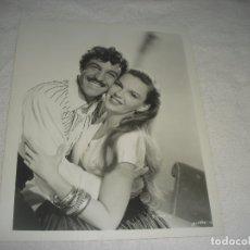 Cine: GENE KELLY Y JUDY GARLAND , ANTIGUA FOTO 26 X 21 CM.. Lote 177131028
