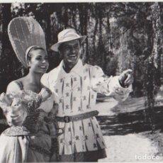 Cine: FOTOGRAFÍA (18X24) CARMEN SEVILLA Y ALBERTO CLOSAS EN LA FIERECILLA DOMADA. Lote 177252910