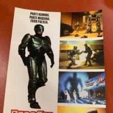 Cine: ROBOCOP - POSTAL PROMOCIONAL DE LA PELICULA. MIDE APROX 14,5X11CMS, LAUREN FILMS. IMPECABLE. Lote 177659483