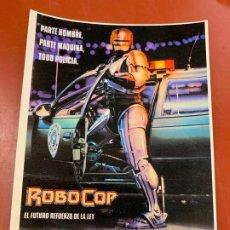 Cine: ROBOCOP - POSTAL PROMOCIONAL DE LA PELICULA. MIDE 14,5X11CMS, LAUREN FILMS. IMPECABLE. Lote 177659944