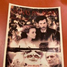 Cine: DIVINAS PALABRAS - POSTAL PROMOCIONAL DE LA PELICULA. MIDE 14,5X11CMS, LAUREN FILMS. IMPECABLE. Lote 177660445