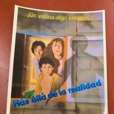 Cine: MAS ALLA DE LA REALIDAD- POSTAL PROMOCIONAL DE LA PELICULA. MIDE 14,5X11CMS, LAUREN FILMS. IMPECABLE. Lote 177660519