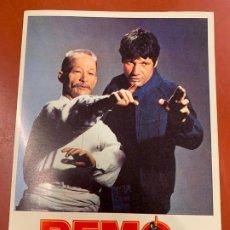 Cine: REMO - POSTAL PROMOCIONAL DE LA PELICULA. MIDE 14,5X11CMS, LAUREN FILMS. IMPECABLE. Lote 177660840