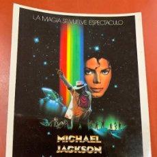 Cine: MICHAEL JACKSON - POSTAL PROMOCIONAL DE LA PELICULA. MIDE 14,5X11CMS, LAUREN FILMS. IMPECABLE. Lote 177663647