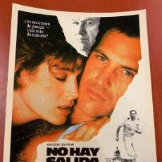 Cine: NO HAY SALIDA - POSTAL PROMOCIONAL DE LA PELICULA. 14,5X11CMS. IMPECABLE. Lote 177664417