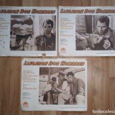 Cine: LLEGARON DOS HOMBRES. PARAMOUNT FILMS. 3 FOTOCROMOS. VER FOTOS. . Lote 178079705