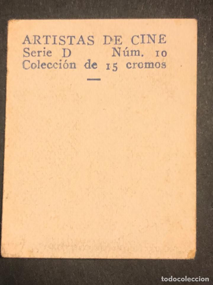 Cine: Cromo 4,5 x 3,5 cm artistas de cine toby wing - Foto 2 - 178246082