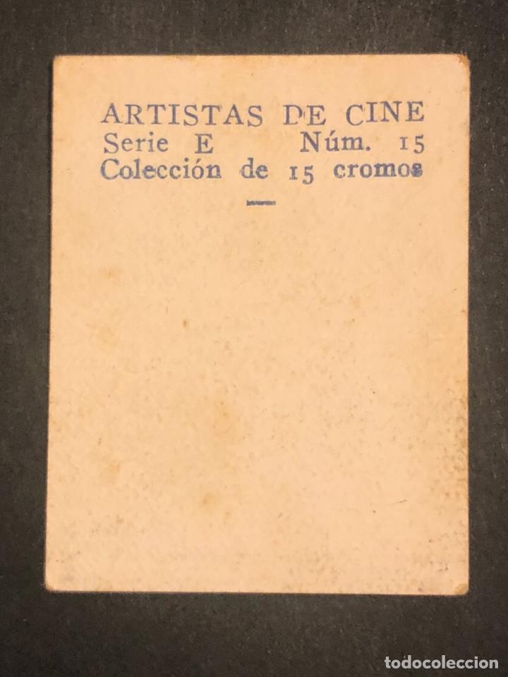 Cine: Cromo 4,5 x 3,5 cm artistas de cine buster keaton - Foto 2 - 178246545
