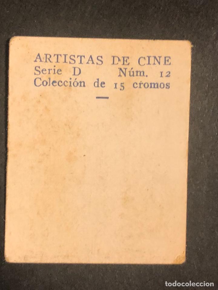 Cine: Cromo 4,5 x 3,5 cm artistas de cine claire dodd - Foto 2 - 178247857